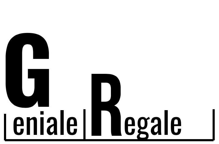 Geniale Regale Logo mit Schriftzug